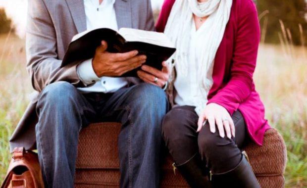 Christian Love Sitting Couple